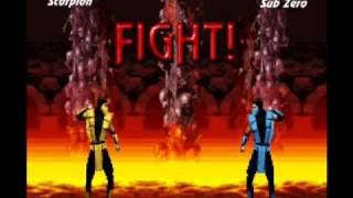 SEGA Mega Drive, Мортал Комбат - Приколы