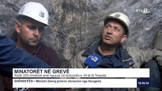 Rreth 200 minatorë janë ngujuar në horizontin e 10-të të Trepçës