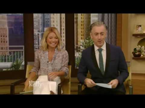 Live with Kelly   Alicia Vikander 'Jason Bourne' & Joel Kinnaman 'Suicide Squad'   July 26, 2016