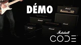 Marshall Code 100H - Video