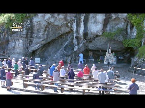 Messe à Lourdes du 9 juin 2020