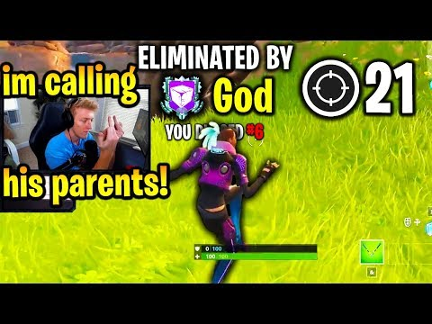 TFUE *GOES OFF* on CHEATER then THIS HAPPENS! (Fortnite)