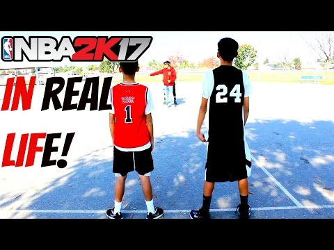 NBA 2K17 My Park IN REAL LIFE