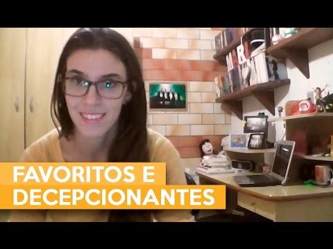FAVORITOS E DECEPCIONANTES | Admirável Leitor