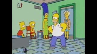 Simpsonovi Homer tancuje a zpívá