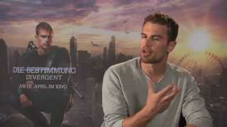 Theo James Interview DIVERGENT  INSURGENT