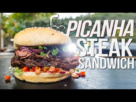 PICANHA STEAK SANDWICH | SAM THE COOKING GUY 4K