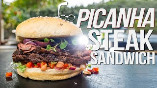 PICANHA STEAK SANDWICH | SAM THE COOKING GUY 4K