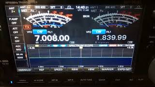 -120dBm Sensitivity SunSDR2 & Icom IC-7610