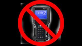 GM Navigation Radio Unlock using dealer Tool(MDI)