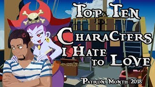 Top Ten Video Game Characters I Hate To Love (Patreon Reward)