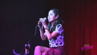 "БЕККИ ГОМЕЗ, Becky G performing ""Shower"" at the #AlamoLounge"