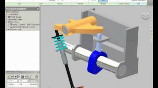 simulation and stress analysis of cam system clip 2