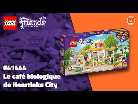 Vidéo LEGO Friends 41444 : Le café biologique de Heartlake City