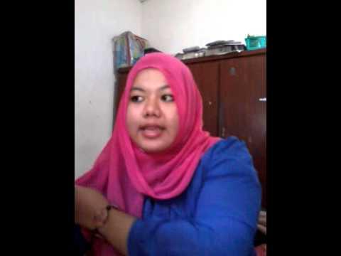 Video tutorial hijab segie mpat untuk wajah bulat