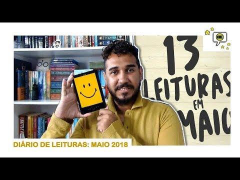 Diário de LEITURAS: Maio 2018 | Na Minha Estante