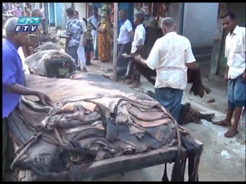 কোরবানির পশুর চামড়ার পড়তি দাম নিয়ে ক্ষুদ্ধ ব্যবসায়ীরা | ETV News