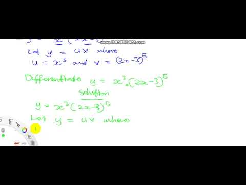 Product Rule for Differentiation Intro Further Mathematics for WASSCE Calculus Differentiation