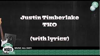 Gambar cover Justin Timberlake - TKO (new song with lyrics)