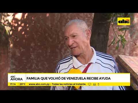 Familia que volvió de Venezuela recibe ayuda