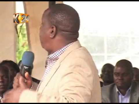 Education CS Matiang'i donates Sh. 35m to 3 learning institution in Kisii county.