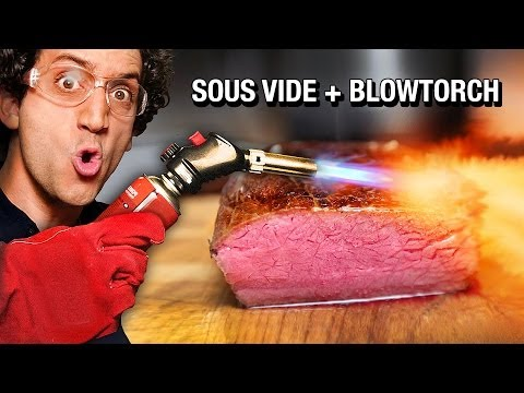 Perfectly Cooked Steak ! Sous-vide Hack with Beer Cooler !
