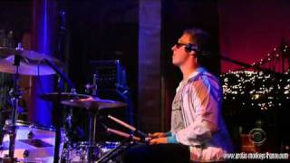 Arctic Monkeys - Fluorescent Adolescent Late Show with David Letterman