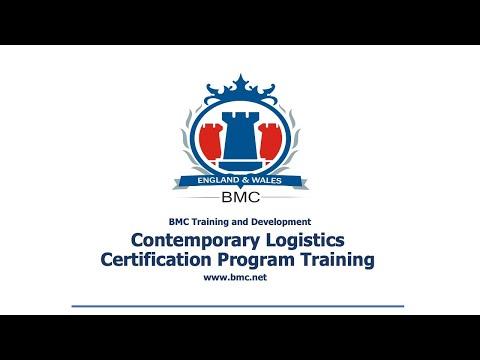 Contemporary Logistics Certification Program Training - YouTube