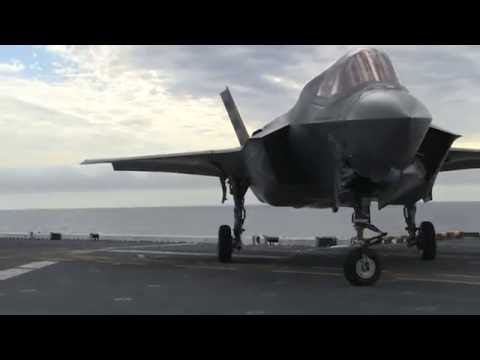 Testing the F-35B Lightning II Aboard USS America - U.S. Navy Video II