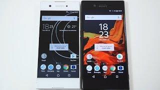 Sony Xperia XA1 Vs Sony Xperia XZ