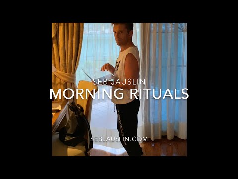 My Morning Rituals.. even when I'm on holiday