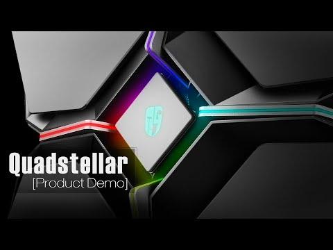 [Product Demo] The Quadstellar Smart E-ATX Case
