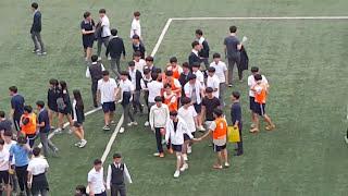 현대고등학교 3학년 남자 구기대회 결승 승부차기 직캠