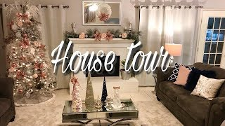 HOUSE TOUR NAVIDEÑO 2017, MI CASA AURORA ELIZONDO