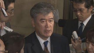 福田財務次官を事実上の更迭「不徳の致すところ」と福田氏