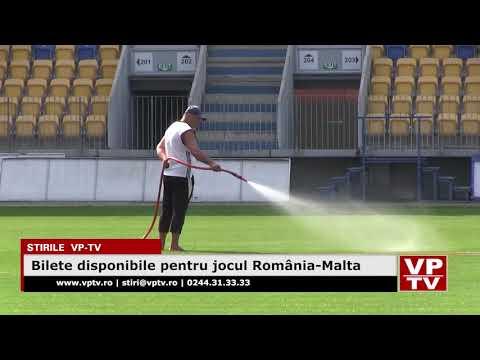 Bilete disponibile pentru jocul România-Malta
