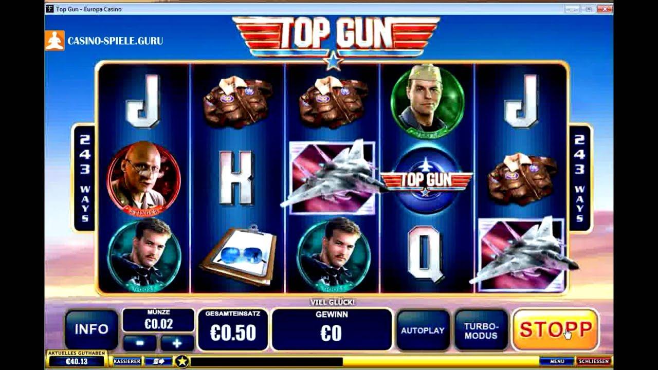 Top Gun – Der Spielautomat für Zockerpiloten
