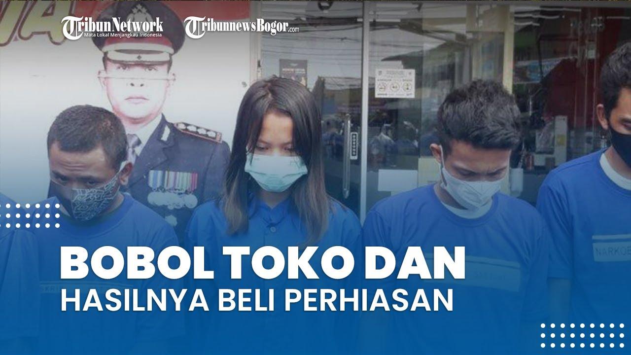 Suami Istri di Bogor Nekat Bobol Toko Bangunan, Hasil Curian Dipakai Beli Perhiasan