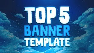 Top 5 Youtube Banner Template | Free Download (2018)