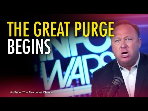 Internet's Infowars purge is just the beginning