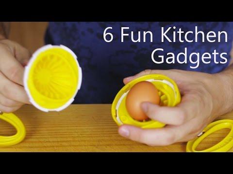 6 Fun Kitchen Gadgets