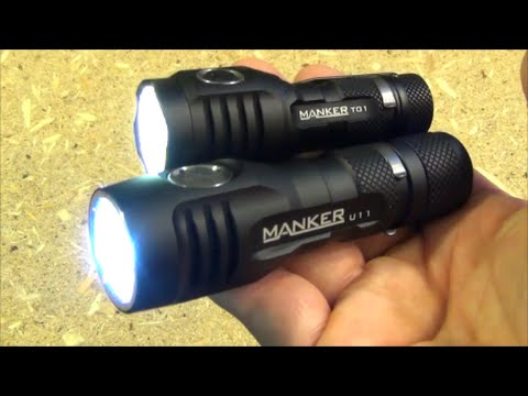 Manker Quinlan T01 and U11 Double Feature Flashlight Review