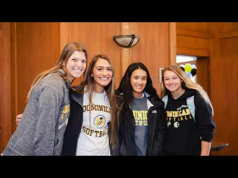 Dominican University of CA Giving Day 2018 - Thank You for Being All In!
