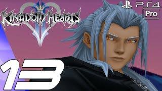 Kingdom Hearts 2 HD - Gameplay Walkthrough Part 13 - Heartless War & Demyx Boss Fight (PS4 PRO)
