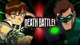 Ben 10 vs Green Lantern (Cartoon Network VS DC Comics) | DEATH BATTLE!