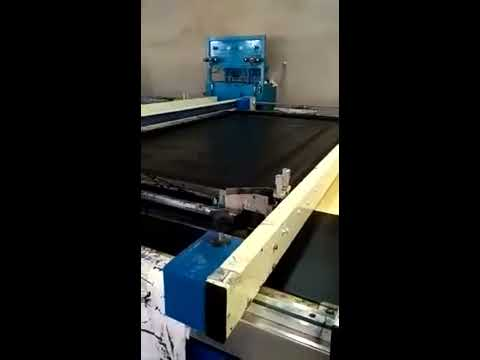 Flatbed  Double Bed Sheet Printing Machine