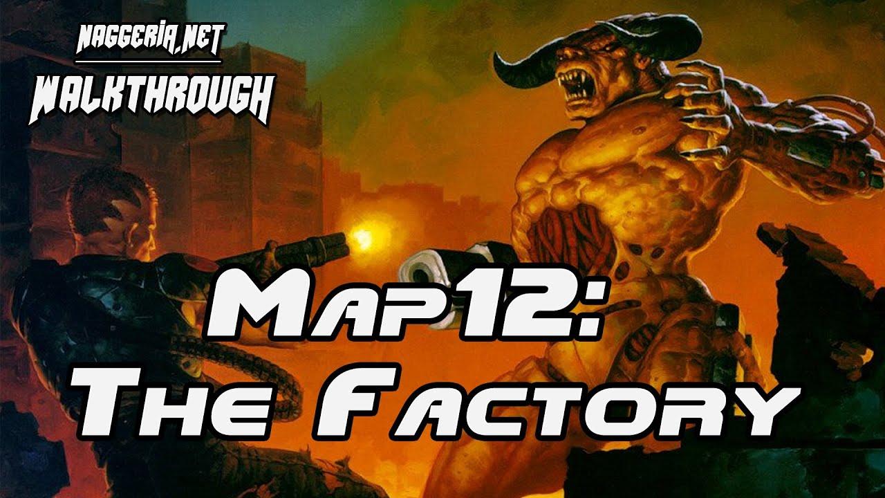 """[Doom 2 Komplettlösung] Map12: """"The Factory"""" Walkthrough (Ultra-Violence)"""