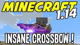 Minecraft 1.14 - INSANE CROSSBOW with PIERCING IV - Minecraft 1.14 Playthrough - Ep 13