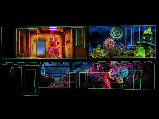 Halloween House Video Mapping 2015