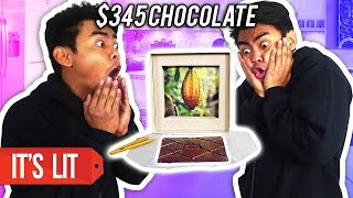 $1 Chocolate Vs $345 Chocolate